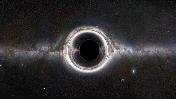 Ротирајућа црна рупа - Sputnik Србија