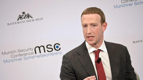 Mark Cukerberg, osnivač Fejsbuka - Sputnik Srbija