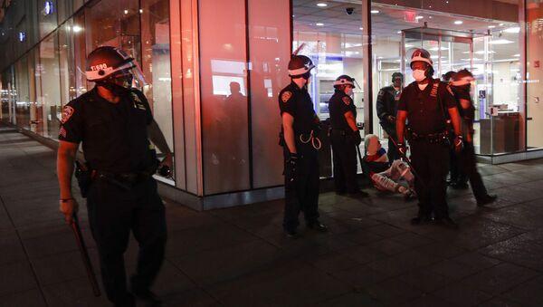 Полиција у Америци током протеста - Sputnik Србија