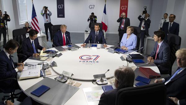 Самит Г7 у Бијарицу - Sputnik Србија