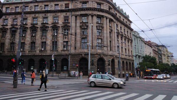 Zgrada na uglu ulica Kneza Miloša i Kralja Milana pod zaštitom je države, a obeležavanje tragova Crvene armije daće joj još veću vrednost. - Sputnik Srbija