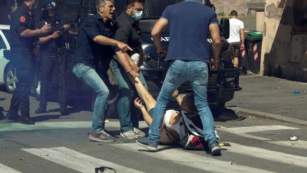 Sukobi neofašista i policije u Rimu - Sputnik Srbija