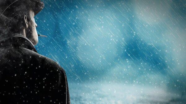 Čovek na kiši - Sputnik Srbija