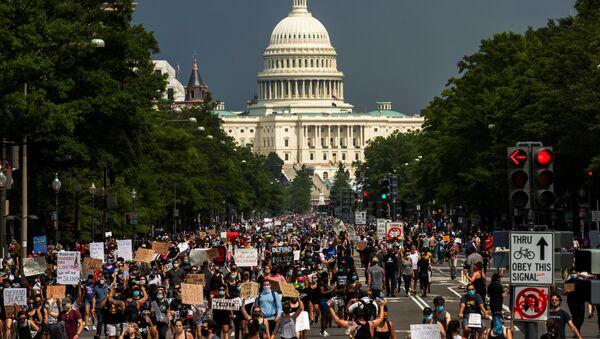 Протести у Вашингтону - Sputnik Србија