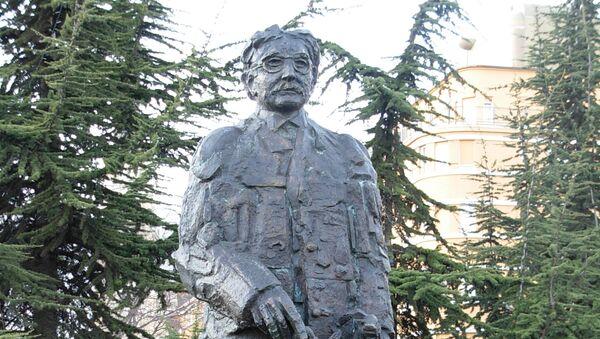 Statua Mihajla Pupina - Sputnik Srbija
