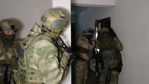 Pripadnici FSB tokom protivterorističke akcije  - Sputnik Srbija