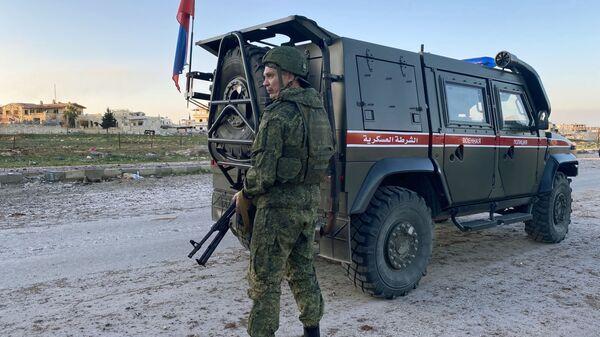 Патрола руске војне полиције у сиријском Идлибу - Sputnik Србија