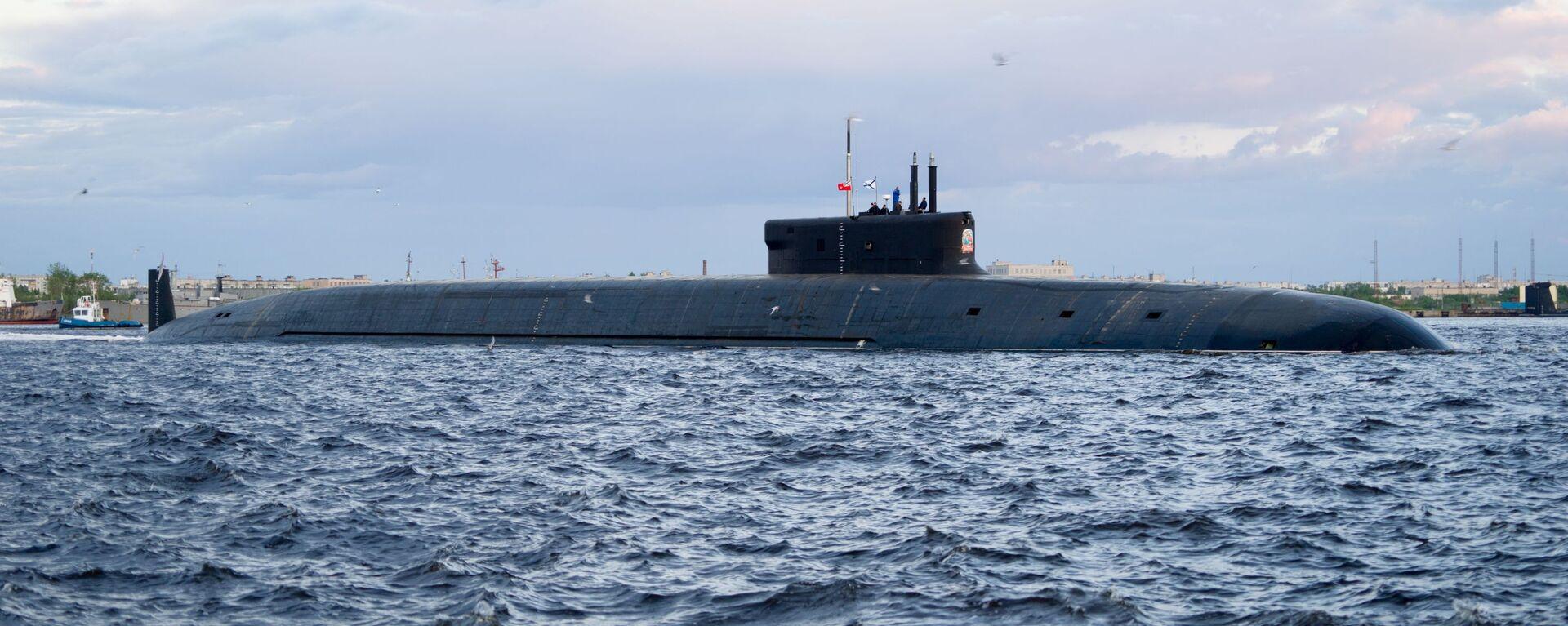 Нуклеарна подморница пројекта Бореј Кнез Владимир - Sputnik Србија, 1920, 19.07.2021