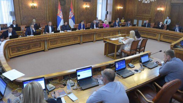 Sednica Vlade Srbije - Sputnik Srbija