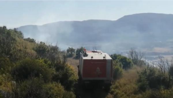 Пожар на Светој Гори - Sputnik Србија