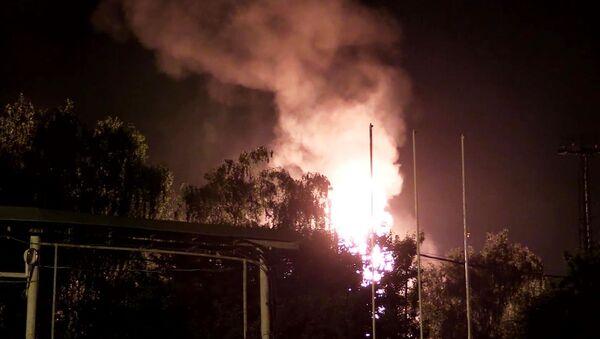Požar u gasnoj stanici u Kazanju - Sputnik Srbija