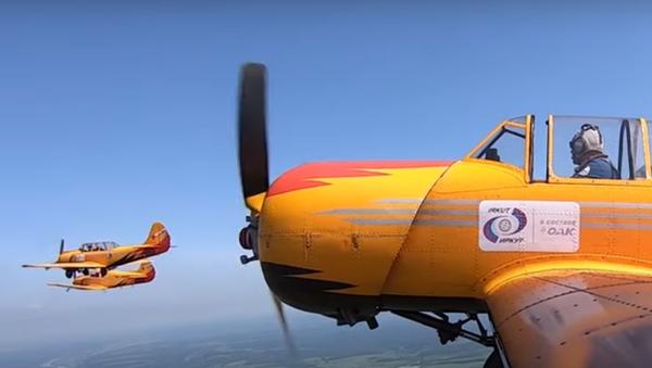 """Avioni """"jakovljev"""" Jak-52 - Sputnik Srbija"""