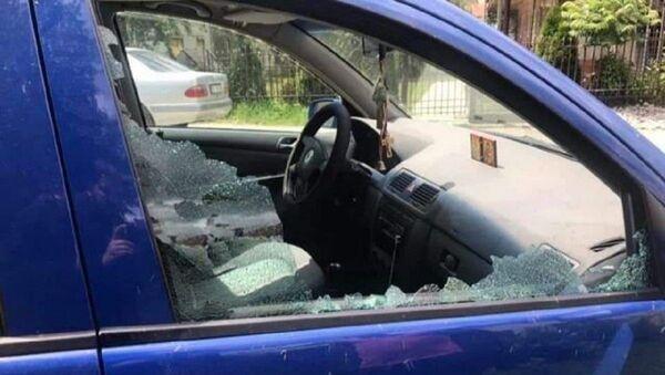 Свештенику у Бијелом Пољу разбијено возило - Sputnik Србија