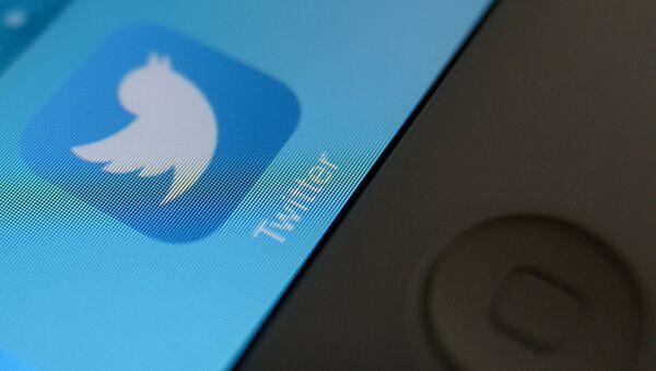 Ikonica aplikacije Tvitera na ekranu tableta - Sputnik Srbija