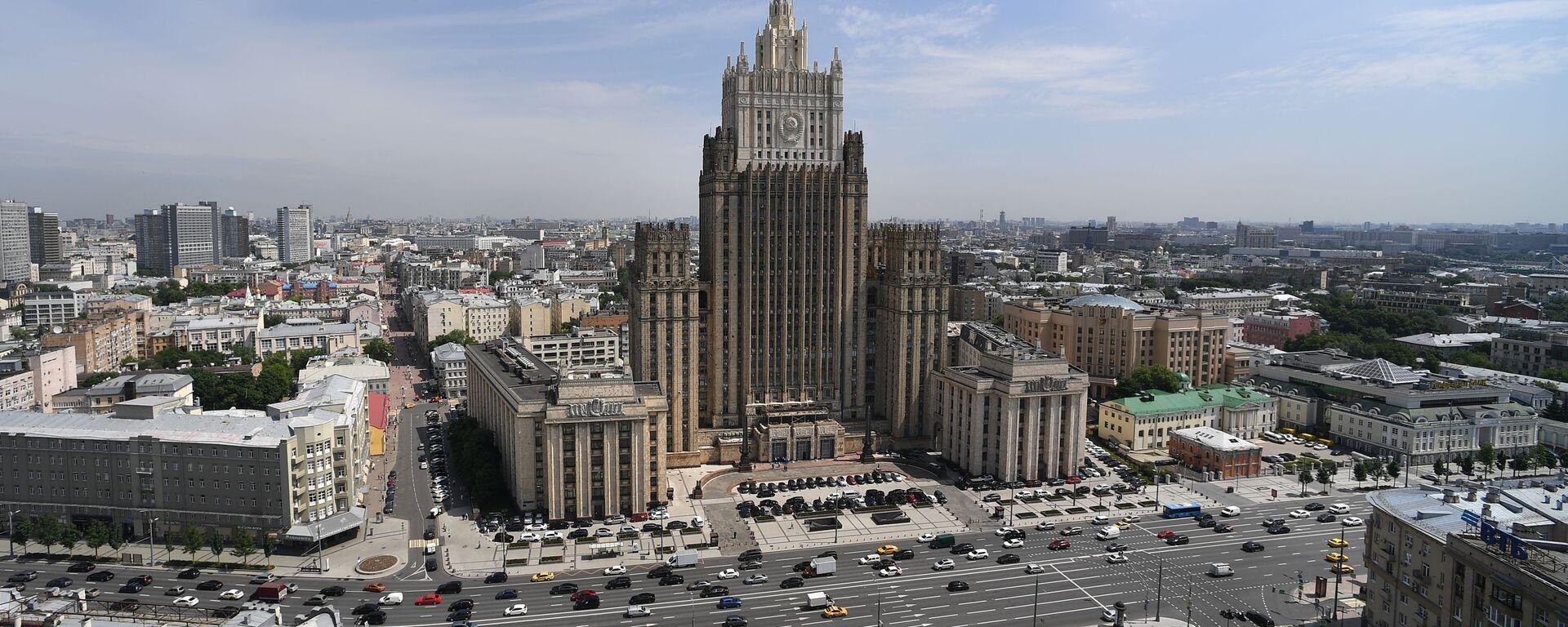 Zgrada Ministarstva spoljnih poslova Rusije u Moskvi - Sputnik Srbija, 1920, 23.07.2021