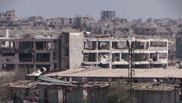 Siriйskie vlasti načali vosstanavlivatь raйon Эlь-Hamdaniя na okraine goroda Aleppo - Sputnik Srbija