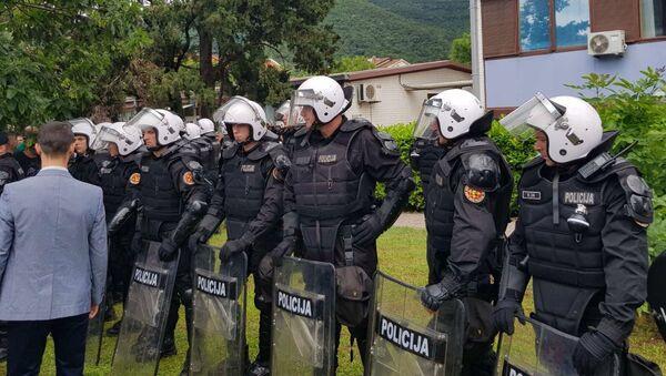 Специјалци Црне Горе испред Центра безбедности у Будви - Sputnik Србија