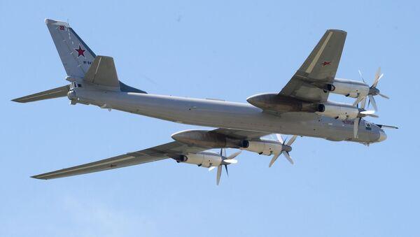 Strateški bombarder nosač raketa Tu-95MS Čeljabinsk - Sputnik Srbija