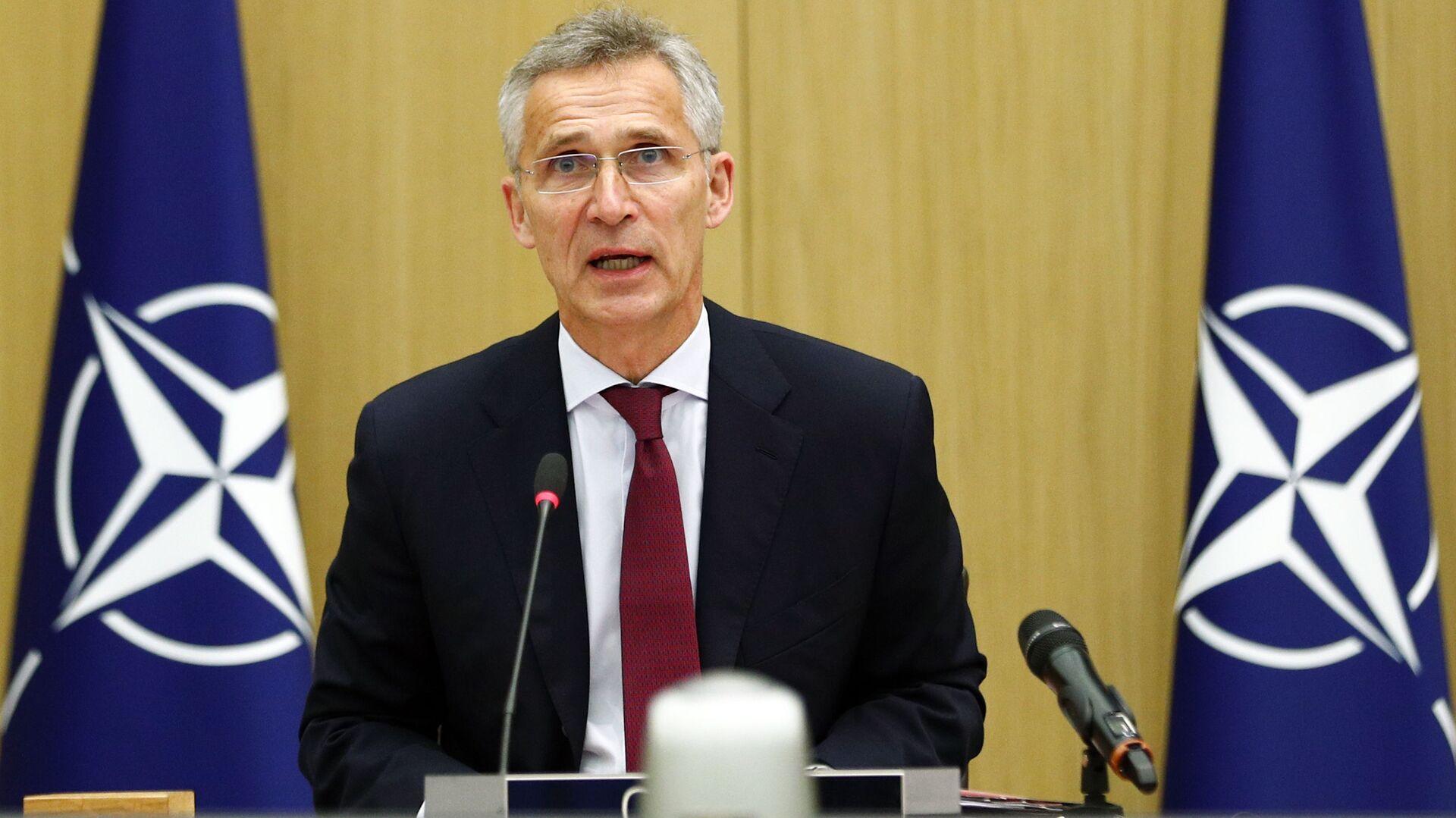 Генерални секретар НАТО-а Јенс Столтенберг - Sputnik Србија, 1920, 01.07.2021