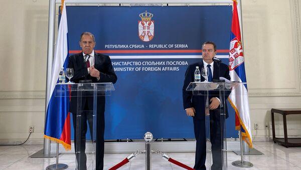 Pregovori u Ministarstvu spoljnih poslova Srbije - Sputnik Srbija