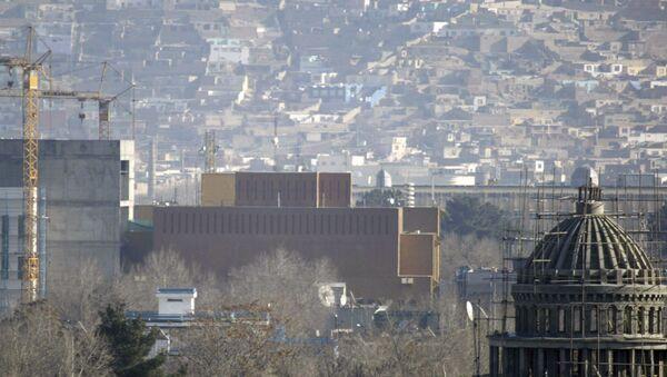 Američka ambasada u Kabulu - Sputnik Srbija