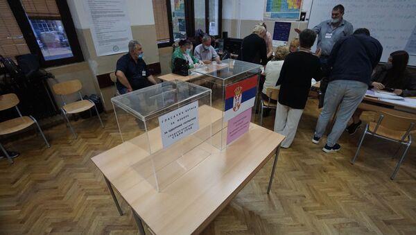 Glasačke kutije  - Sputnik Srbija