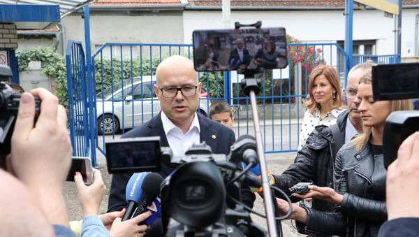 Gradonačelnik Novog Sada Miloš Vučević - Sputnik Srbija