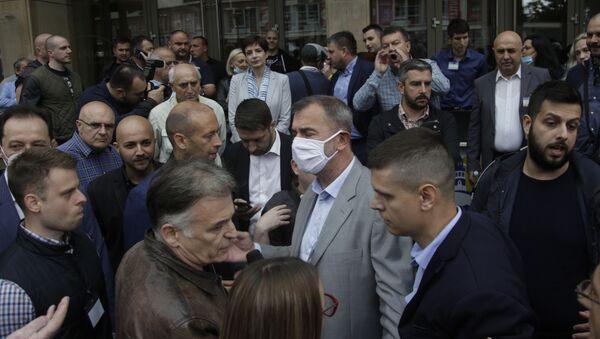 Напето уочи седнице Главног одбора Демократске странке  - Sputnik Србија