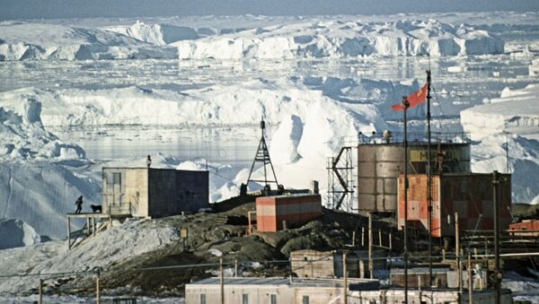 Руска станица Мирни на Антарктику - Sputnik Србија