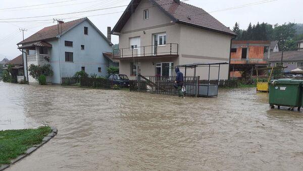 Поплава у Љубовији - Sputnik Србија