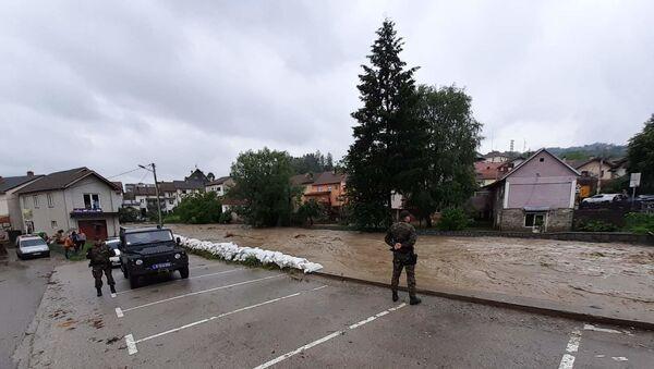 Љубовија - поплава - Sputnik Србија