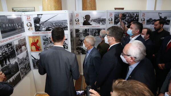 У Градској кући у Нишу отворена је изложба посвећена 75. годишњици победе над фашизмом - Sputnik Србија