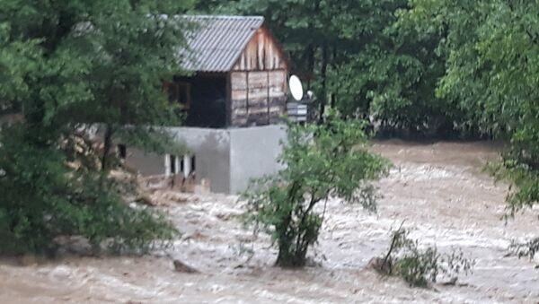 Kuća koju je zarobila reka Studenica. - Sputnik Srbija