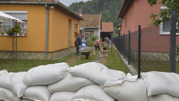 Поплаве у Србији 2020. Осечина - Sputnik Србија