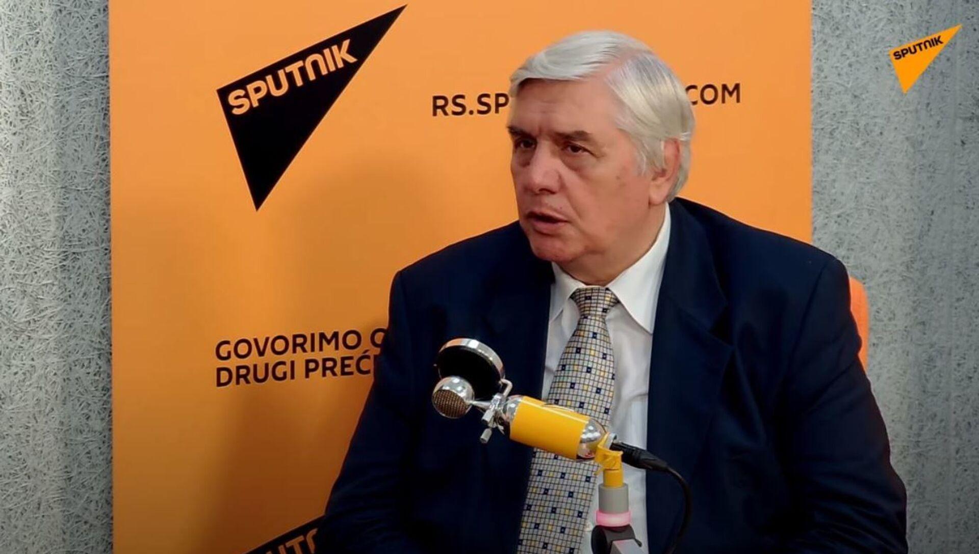 Epidemiolog Branislav Tiodorović - Sputnik Srbija, 1920, 18.04.2021