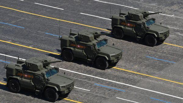 """Оклопна возила """"Тајфун"""" на Паради победе - Sputnik Србија"""