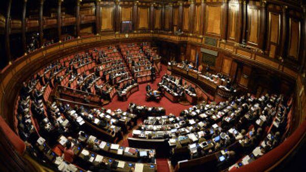 Заседание итальянского парламента - Sputnik Србија