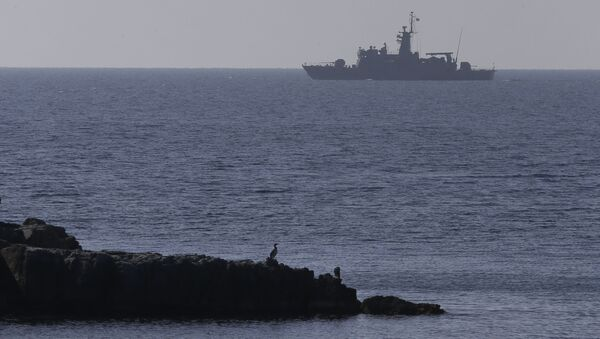 Брод грчке ратне морнарице у Егејском мору - Sputnik Србија