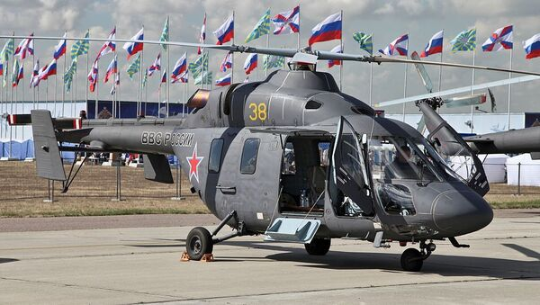Руски хеликоптер Ансат  - Sputnik Србија
