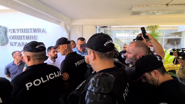 Incidenti u SO Budva - Sputnik Srbija