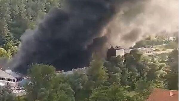 Пожар у Прибоју - Sputnik Србија