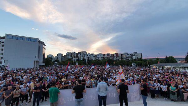Молебан у Подгорици - Sputnik Србија