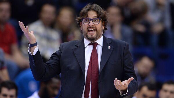 Košarkaški trener Andrea Trinkijeri - Sputnik Srbija