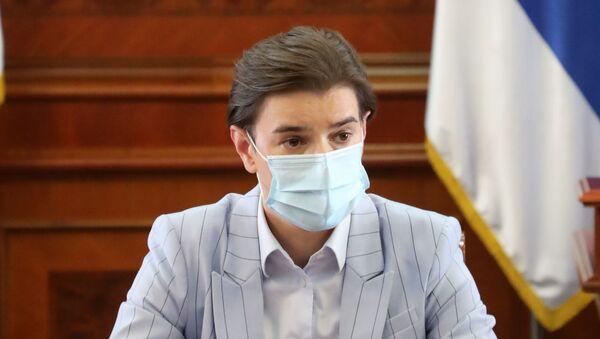 Predsednica Vlade Srbije Ana Brnabić  - Sputnik Srbija