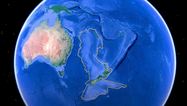 Простор континента Зеландија - Sputnik Србија