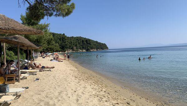 Plaža na Skiajtosu - Sputnik Srbija
