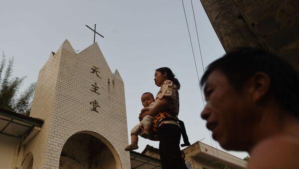 Katolička crkva u Kini - Sputnik Srbija