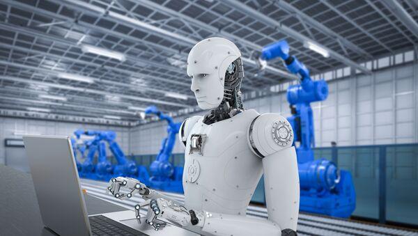 Roboti u fabrici - Sputnik Srbija