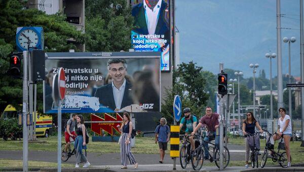 Парламентарни избори у Хрватској - Sputnik Србија