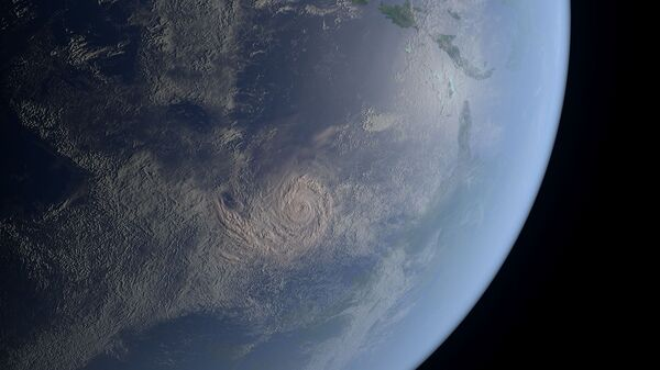 Snimak Zemlje iz svemira - Sputnik Srbija